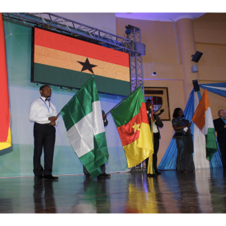Participants from neighbouring countries at the Max Ghana Launch - Nov 2014