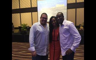 GH Diamonds, Dr & Mrs Nyarko-Pong , with crown Diamond Alex Monterrosa