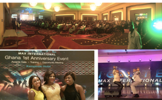 Kempinski Hotel - Max Ghana 1st Anniversary
