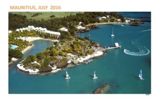 Next Road to Diamond 2016 - Mauritius